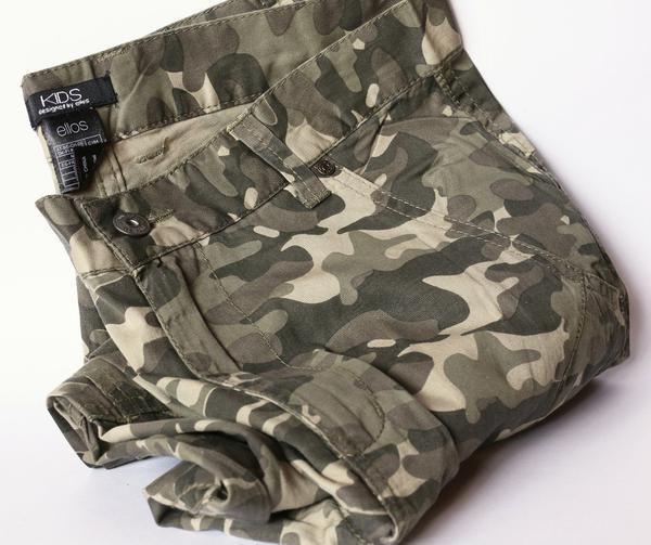 Купить камуфляжные штаны на подростка