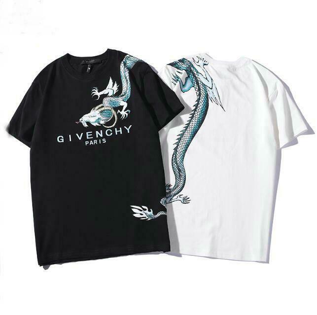 New Men Fashion 20givenchy 19 Dragon Printed Cotton T Shirt Fashion Clothing Shoes Accessories Mensclothing Paris T Shirt Ladies Tee Shirts Mens Tshirts