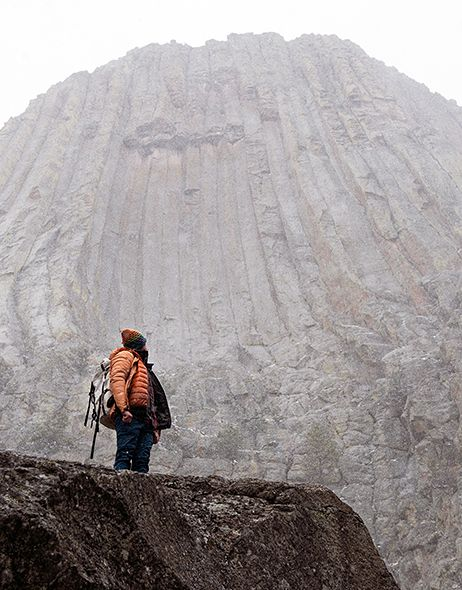 Climbing Devils Tower: When Bad Weather Makes an Even Better Adventure