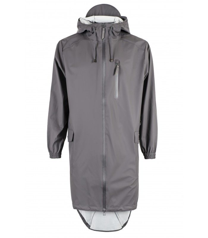 Rains Parka coat smoke!