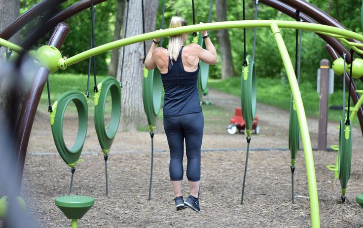 7 Exercises for a Full-Body Playground Workout http://ift.tt/2tEvsLM Whether or not you have kids playgrounds are the perfect place for an outdoor adventure workout. Youll be amazed at how functional metabolic and challenging jumping climbing swinging and sliding can be. Do this short simple incredibly fun outdoor exercise plan next time you take a jaunt to the park: 1. SEE-SAW SINGLE LEG BALANCE The move: Find something slightly unstable but safe. Stand on one foot for 30 seconds then…