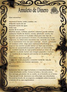 Trastos de Bruja: Amuleto de dinero