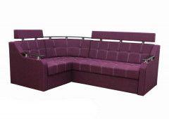Угловой диван Divan Plus Элегант 3 165 см Фиолетовый