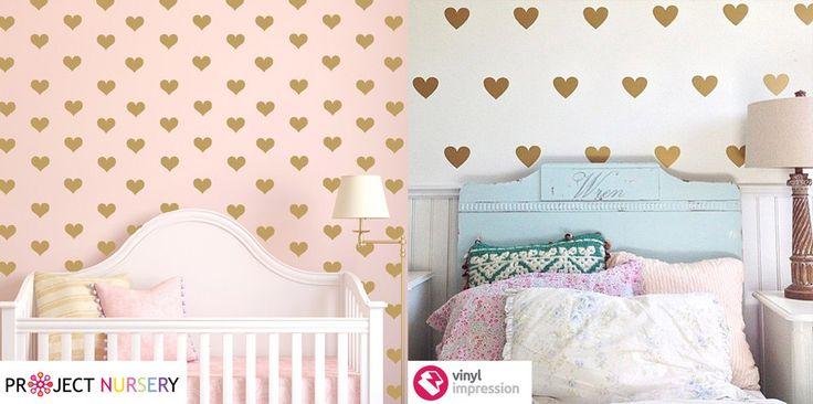 www.vinylimpression.co.uk Nursery design trends 2015 for new borns