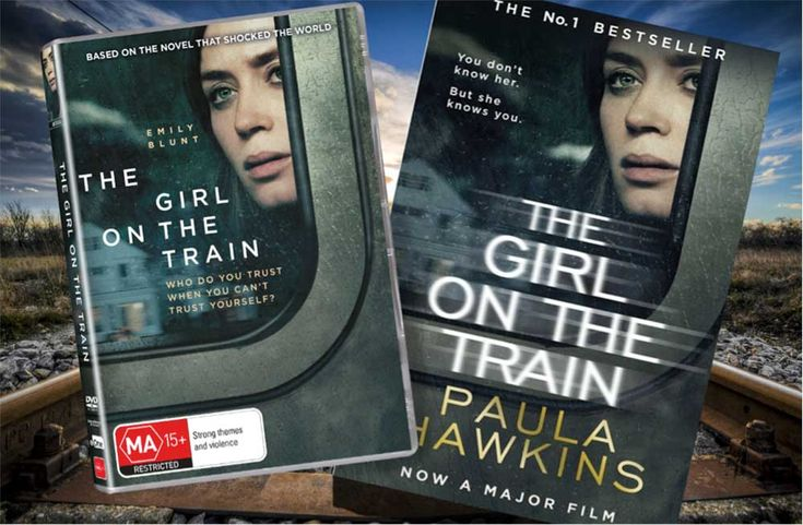 """Win this """"The Girl On The Train"""" book and DVD pack. Entries close midday Monday 23rd January, Sydney/Melbourne time."""