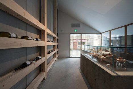 Case-Real combines a patisserie with a wine bar in Fukuoka