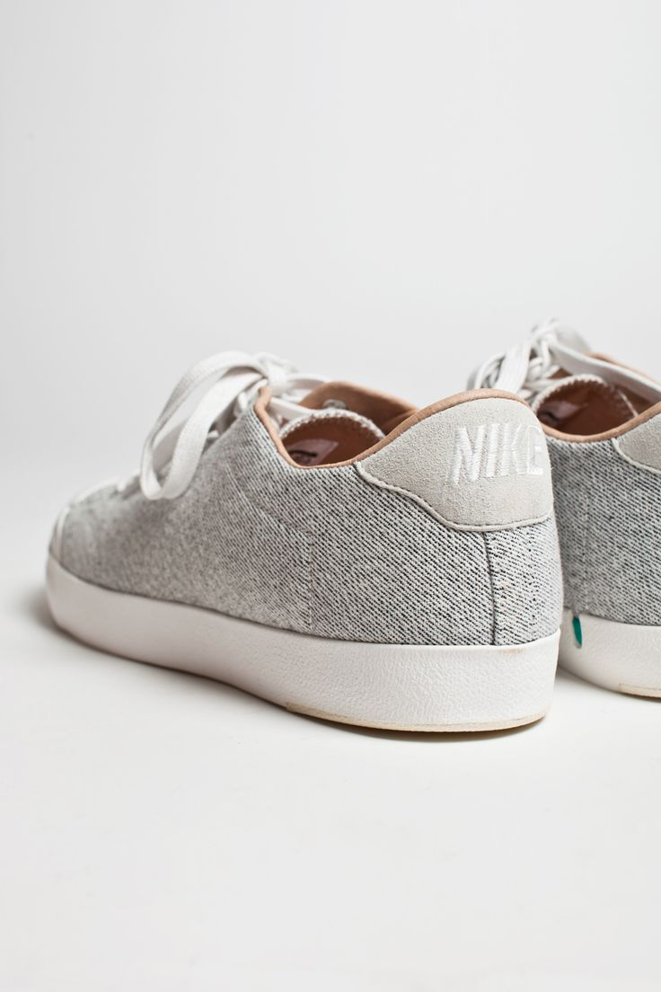 Nike All Court: light grey canvas