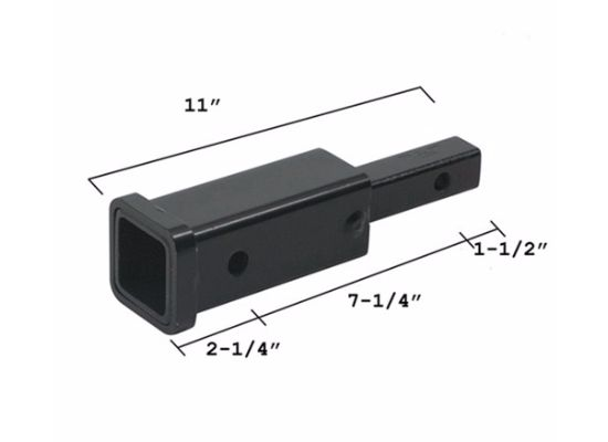 "Hitch Adapter 1-1/4"" to 2"" Trailer Hitch Receiver"