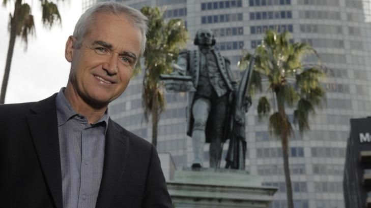 Scott Bevan is the presenter and co-producer of <i>Arthur Phillip: Governor, Sailor, Spy</i>.