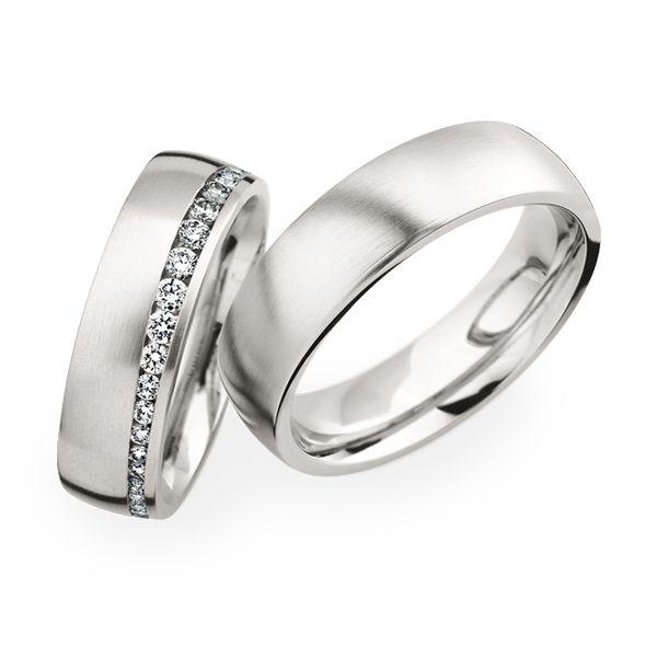 111 best Ehering mit Diamant images on Pinterest