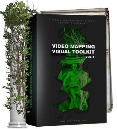 Video mapping LOOPS!!! http://limeartgroup.com/product-category/video-mapping-loops #PROJECTIONMAPPING #projection #visualart #3d #animation #performanceart #vjloops #vj
