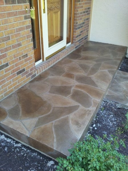 12 Best Grand Flagstone Concrete Makeover Images On
