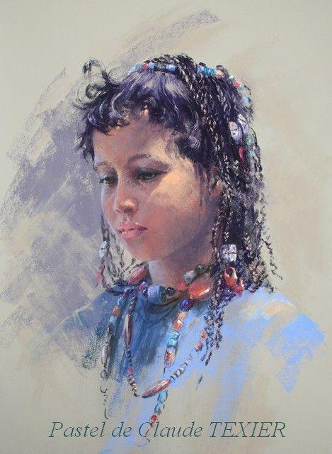 Pastel by Claude Texier