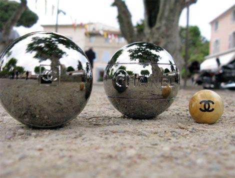 petanque/boules - on the terrace