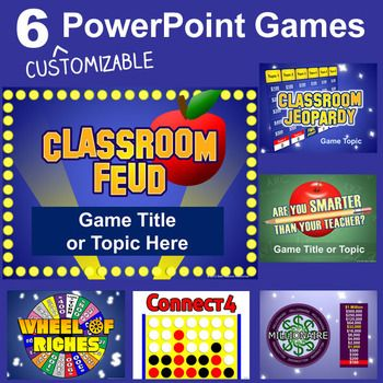 10 best Teacher Games images on Pinterest School, Classroom - family feud power point template
