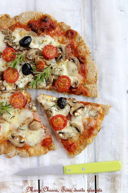 Pizza / Saines Gourmandises... par Marie Chioca