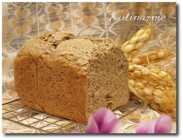 Kulinarnie » Chleb żytni razowy z automatu