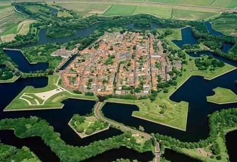 Naarden In Holland Places Visited From 2014 Onwards In