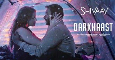 Darkhast Lyrics   Shivaay  Arijit Singh, Sunidhi Chauhan.