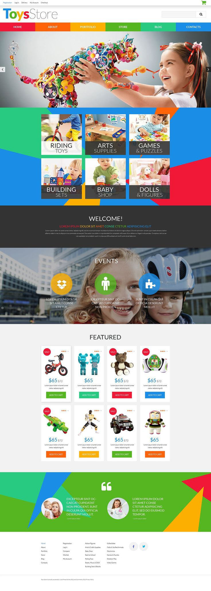 Toys for Kids #WooCommerce #WordPress Theme #52481