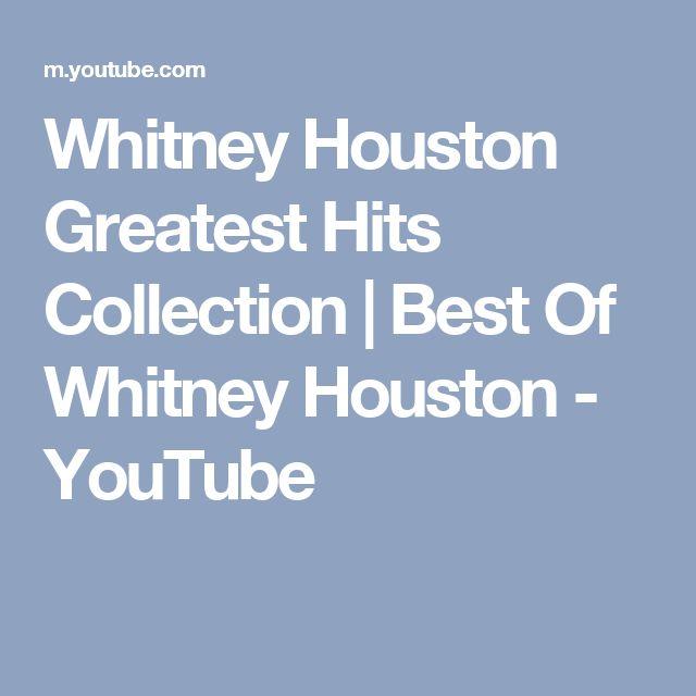 Whitney Houston Greatest Hits Collection | Best Of Whitney Houston - YouTube