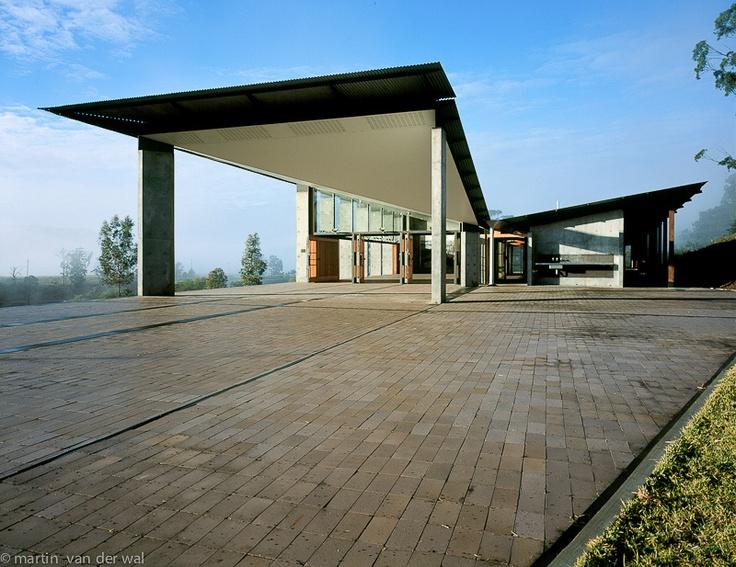 The Arthur & Yvonne Boyd Education Centre, Riversdale, Australia.  Architect: Glenn Murcutt, 1999.