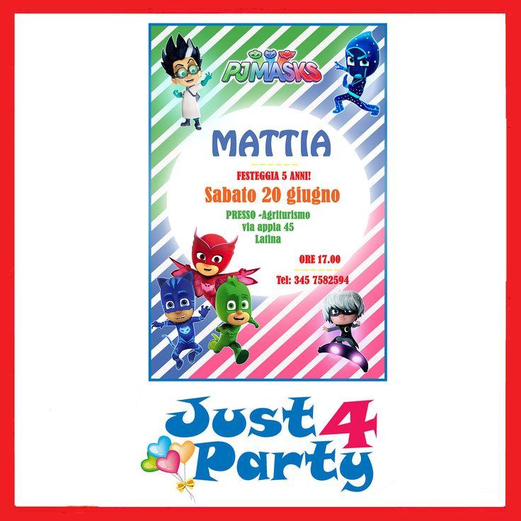 Super 51 best Inviti per feste Personalizzabili! images on Pinterest WW83