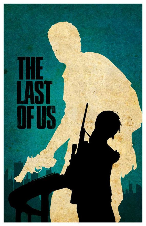 The Last Of Us Poster by MINIMALISTPRINTS on Etsy