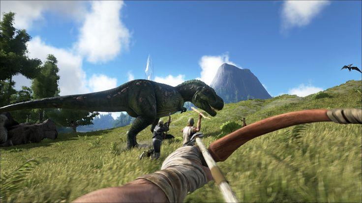 ARK Survival Evolved : Un grand dinosaure sur Xbox ONE