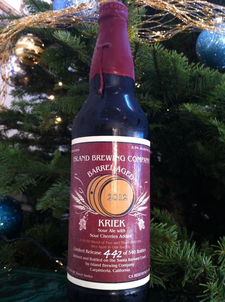 Bourbon barrel aged Kriek anyone?