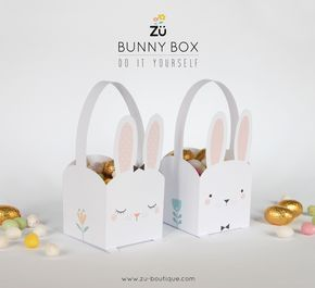 zü: DIY de Pâques - La Bunny Box