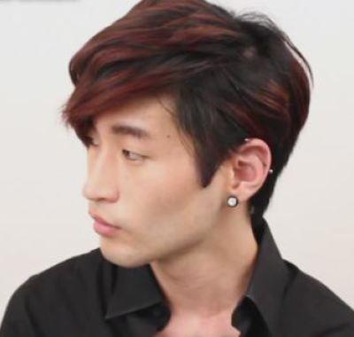 Korean Wavy Hairstyle Male