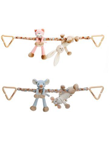 Teddykompaniet - Diinglisar Tame Pram Toy