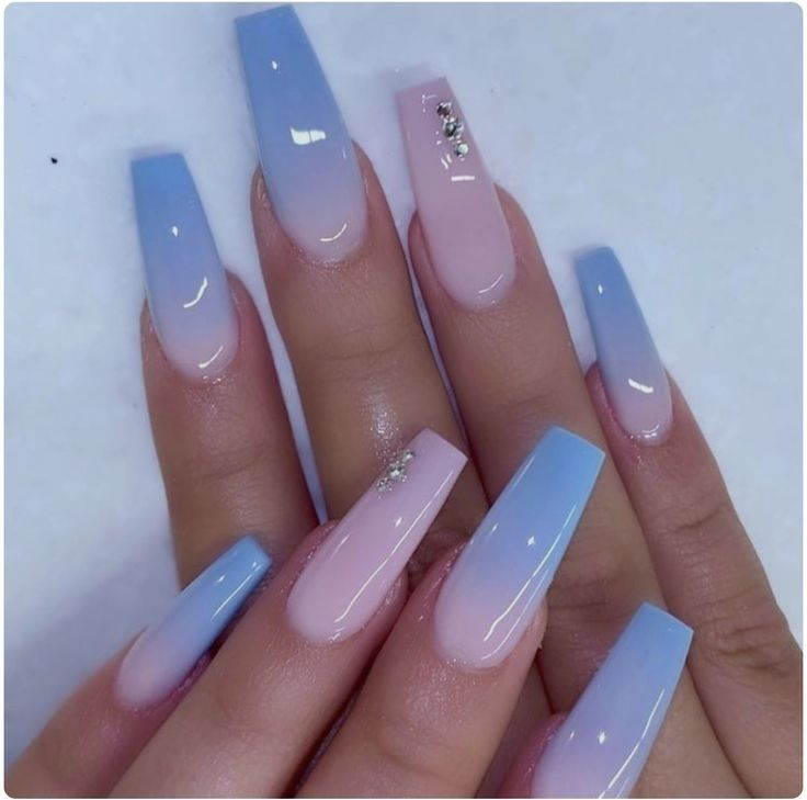 90 Long Acrylic Nails Design Ideas June 2020 In 2020 Long Acrylic Nail Designs Ombre Acrylic Nails Best Acrylic Nails