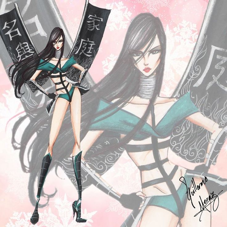 The Disney Princess Victoria's Secret Collection by Guillermo Meraz - Mulan