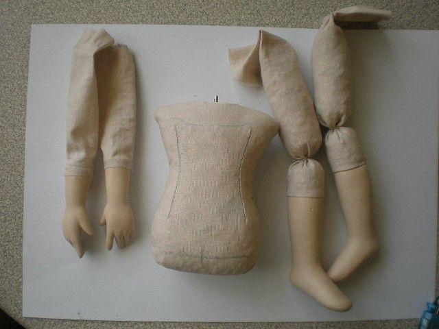 Картинки по запросу подвижное тело куклы как сделать
