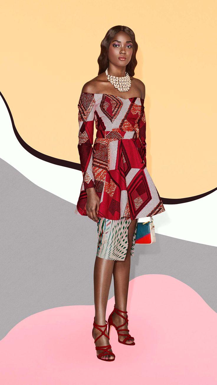 Vlisco Fashion Look - Des Couches d'ÉléganceVlisco V-Inspired