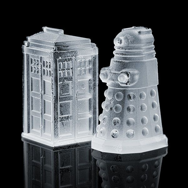 ThinkGeek :: Doctor Who Ice Cube Tray -No but I really want this.