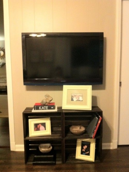 1000 Ideas About Crate Tv Stand On Pinterest Cheap