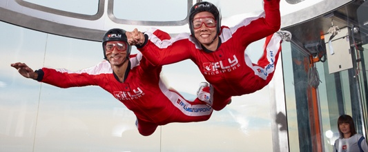 iFly Singapore - Live your dreams with the world's largest themed wind tunnel for indoor skydiving. With its state-of-the-art technology, iFly Singapore has made flying more fun and easier than ever! (beside Beach Station, Siloso Beach, Sentosa Island; tel 65710000)