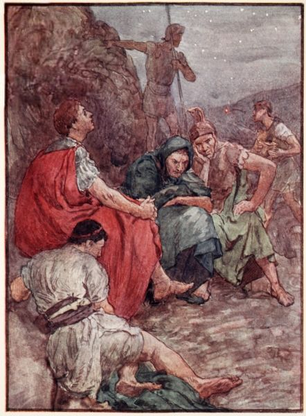 William Rainey, Brutus and his companions after the Battle of Philippi
