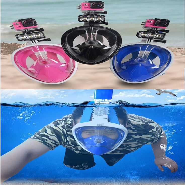 Snorkeling mask full face dry snorkel scuba #swimming #diving scuba #goggle fr go,  View more on the LINK: 	http://www.zeppy.io/product/gb/2/291935910592/