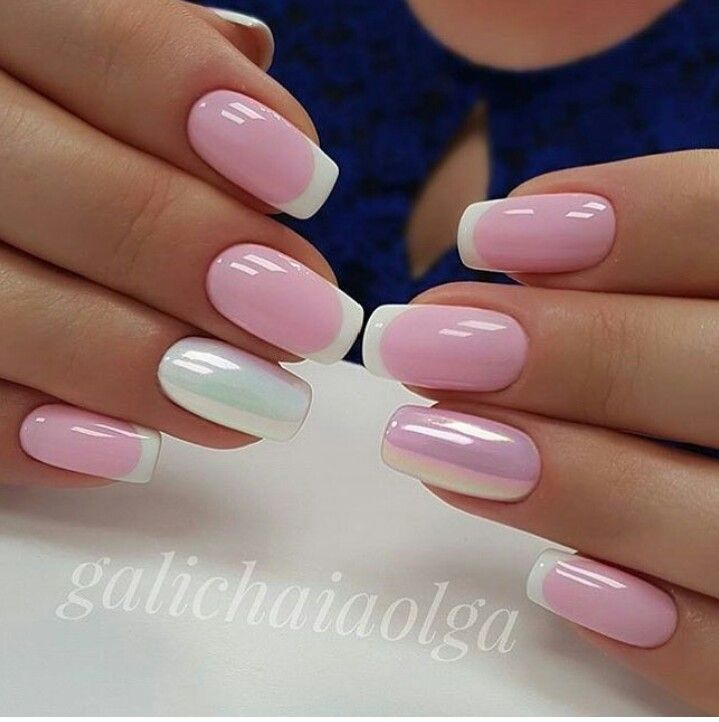 ABSOLUTELY Love this nail art idea. Would be perfect for a manicure | acrylic and gel nails idea | decorado de unas