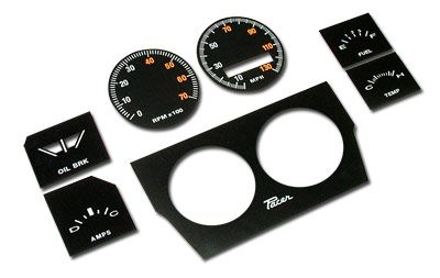 TIRED OF LOOKING AT THE AGED GAUGES IN YOUR VALIANT VG PACER OR REGAL 770 FITTED WITH SPORTS DASH ?  THIS RESTORATION DECAL PACKAGE WILL ENABLE YOU TO RESTORE YOUR GAUGES TO AS GOOD AS NEW ! PP&R DASH INSTRUMENTS ARE MANUFACTURED USING STATE-OF-THE-ART 'AVIATION INSTRUMENT TECHNOLOGIES, GUARANTEEING THAT YOUR INSTRUMENTS WILL LOOK PREFECT AND STAY THAT WAY FOR YEARS TO COME !