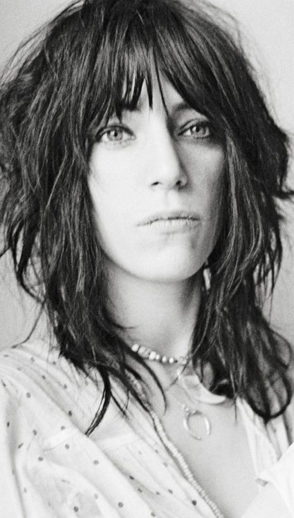 Patti Smith. I totally want her hairstyle (next time I get bored of the length of mine)!
