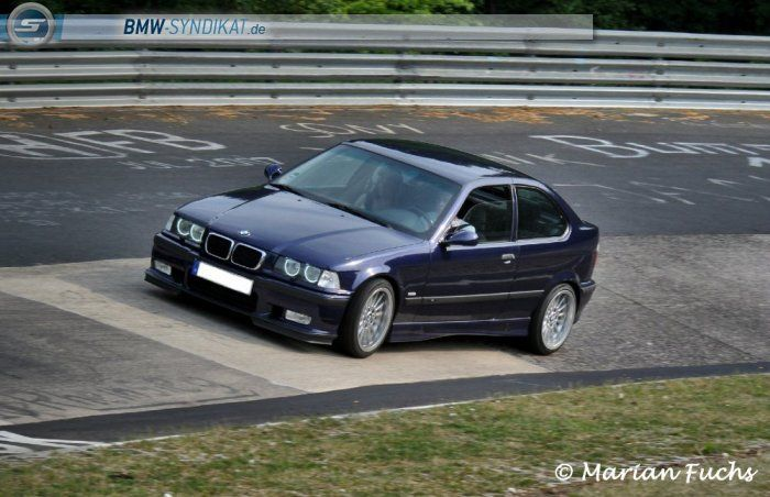 bmw e36 compact 323ti on oem bmw styling 32 at nurburgring. Black Bedroom Furniture Sets. Home Design Ideas