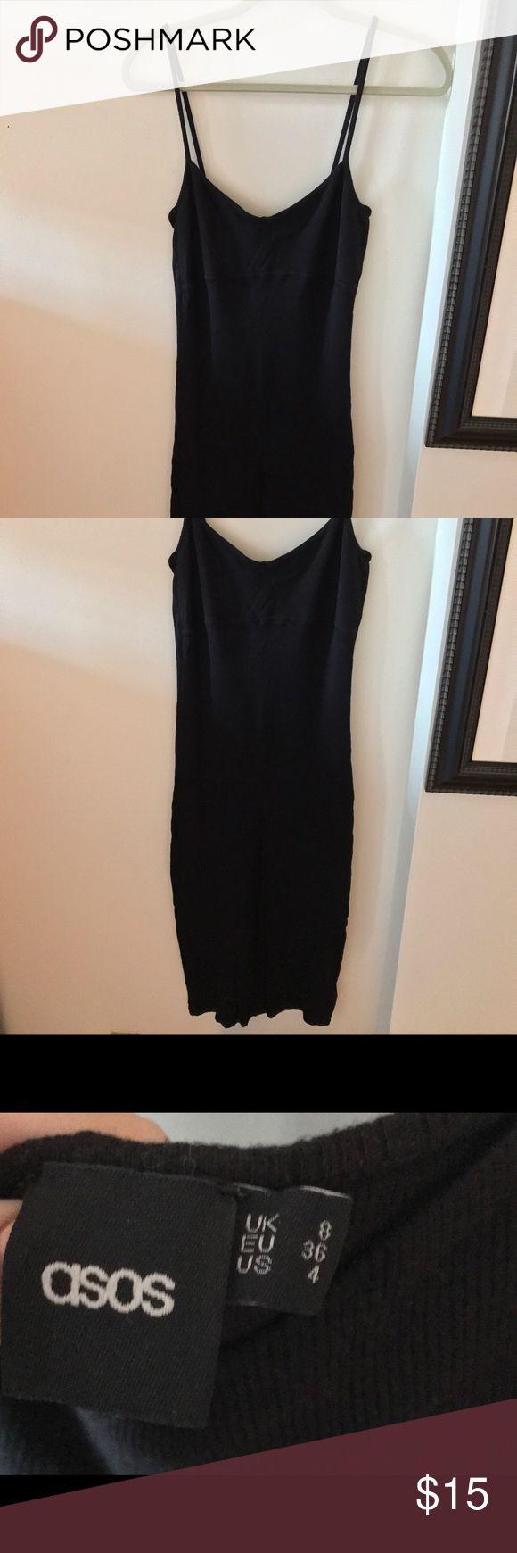 Bodycon black dress from asos Bodycon ribbed Asos black dress ASOS Dresses Midi