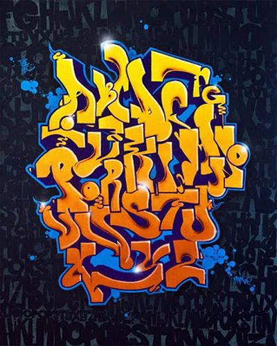 ABCD | Graffiti Alphabet
