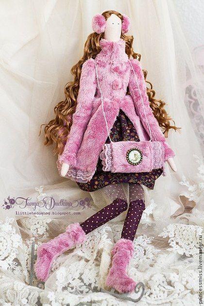 Куклы Тильды ручной работы. Ярмарка Мастеров - ручная работа Тильда Адель. Handmade.♡