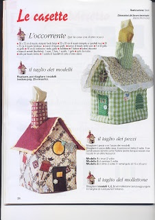 Las Monerías de la Encarna: Tutorial casita porta-pañuelos.